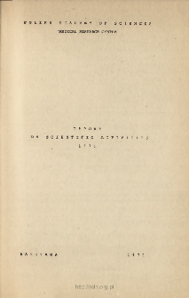 Report on Scientic Activities 1978