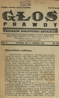 Głos Prawdy 1924 N.55
