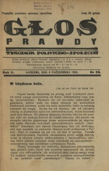 Głos Prawdy 1924 N.56