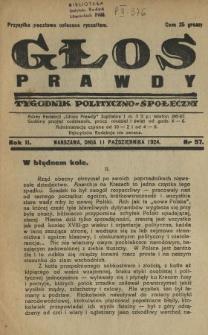 Głos Prawdy 1924 N.57