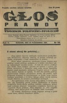 Głos Prawdy 1924 N.59