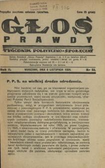 Głos Prawdy 1924 N.61
