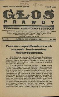 Głos Prawdy 1924 N.68