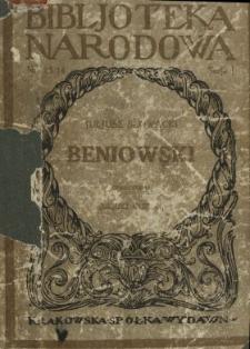 Beniowski : wydanie całkowite w nowym układzie