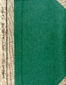 Sprawozdania Archeologiczne T. 2 (1956), Spis treści