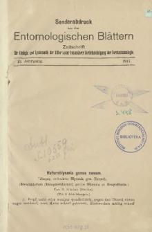 Heteroblysmia genus novum: (Brenthidarum [Belopheridarum] prope Blysmia et Desgodinsia)