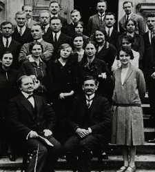 Konstanty Janicki with coworkers