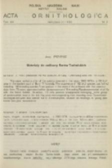 Materiały do awifauny Borów Tucholskich