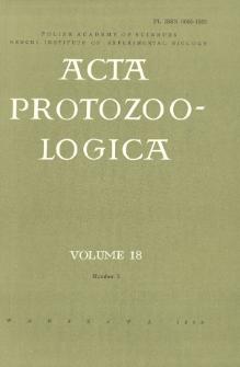 Acta Protozoologica, Vol. 18, Nr 2
