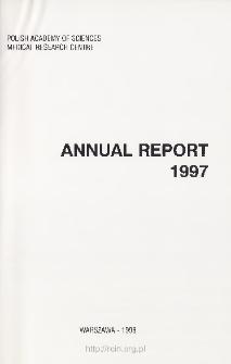Report of Scientific Activities 1997