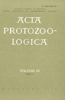 Acta Protozoologica, Vol. 19, Nr 2