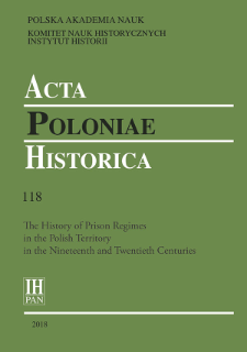 Materials about Prisons in the Polish Territories in the Fund of the Main Prison Administration of the Russian Empire