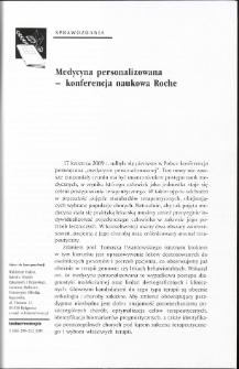 Medycyna personalizowana - konferencja naukowa Roche