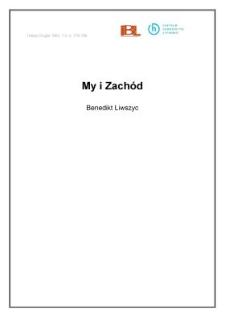 My i Zachód