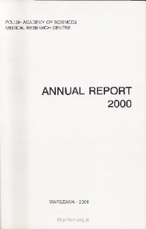 Report of Scientific Activities 2000