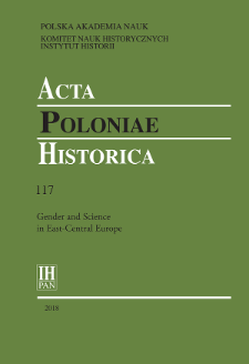 Acta Poloniae Historica T. 117 (2018), Title pages, Contents