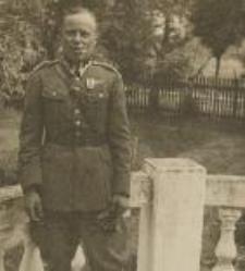 August Dehnel w mundurze