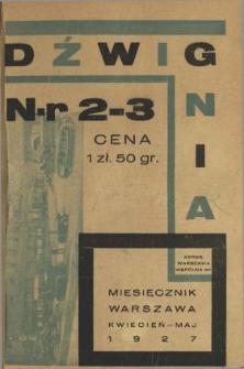 Dźwignia 1927 N.2-3