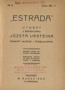 Pikuś przy telefonie : utwory z repertuaru Józefa Ursteina : dowcipy własne i podsłuchane