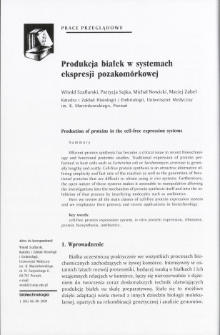 Production of proteins in the cell-free expression systems