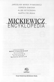 Mickiewicz - encyklopedia