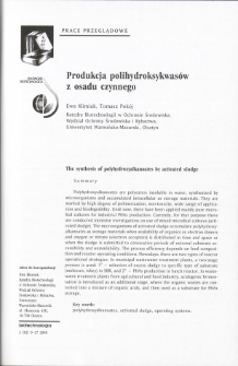 The synthesis of polyhydroxyalkanoates by activated sludge