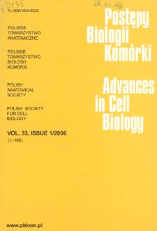 Postępy biologii komórki, Tom 33 nr 1, 2006