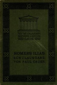 Omīroy Ilias = Homers Ilias