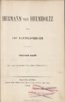 Hermann von Helmholtz. Bd. 3