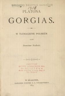 Platona Gorgias
