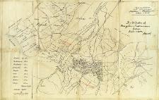 Mapa poglądowa kopalń i szybów naftowych Borysław - Tustanowice skala : 1:20 000