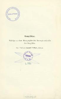 Osmylidae : Beiträge zu einer Monographie der Neuropterenfamilie der Osmyliden