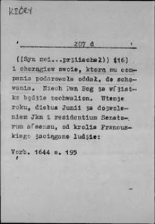 Kartoteka Słownika języka polskiego XVII i 1. połowy XVIII wieku; Który7