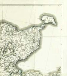 Semitopografičeskaja karta inostrannym vladeniâm po zapadnoj granice Rossijskoj Imperii : semitopografičeskaja karta Carstva Pol'skago. B XII