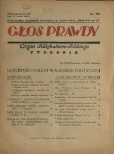 Głos Prawdy 1929 N.282