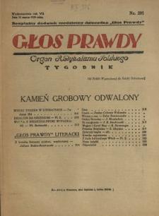 Głos Prawdy 1929 N.291