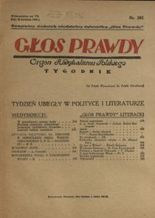 Głos Prawdy 1929 N.295