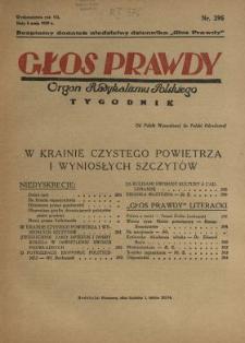 Głos Prawdy 1929 N.296