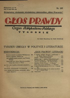 Głos Prawdy 1929 N.297