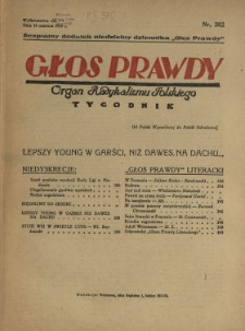 Głos Prawdy 1929 N.302