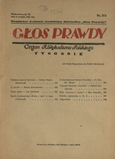 Głos Prawdy 1929 N.314