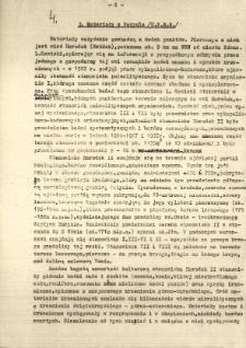 Wstawka do pracy paleontologicznej magistra Kulczyckiego, napisana dnia 27. VI. 1954