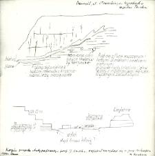 Dokumentacja polowa z terenu dawnej cegielni Teicha