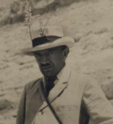 Bolesław Dębski w Kairze