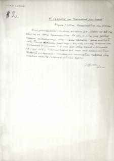 Szopowo. powiat Zamość : notatka z 1931 roku