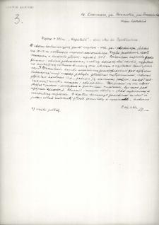 Łuszczacz, powiat Tomaszów Lubelski : notatka z 1932 roku