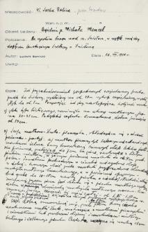Sucha Dolina, powiat Grodno : notatki z wierceń