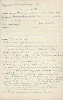 Szczeczynowo, powiat Grodno : notatka z wierceń