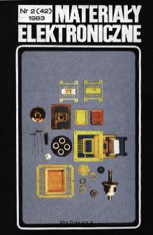 Spis treści 1983 nr 1(42)