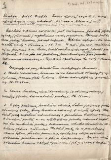 Kraków - Dąbie : opis odkrywki w cegielni